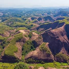 飞天山国家地质公园