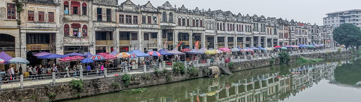 [广东]三八节珠海斗门古镇自驾游: 赏油菜花,看疍家风情