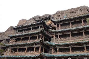 清明北京自驾游:山西北岳恒山-云冈石窟-悬空寺三日游