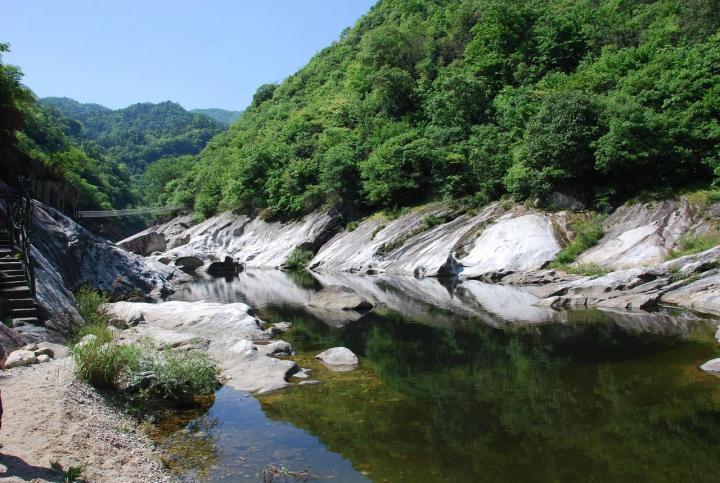 燕子河大峡谷