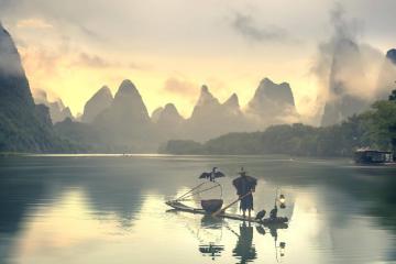北京出发广西全境16日自驾游:橘子洲-德天瀑布-涠洲岛-高椅岭16日自驾游