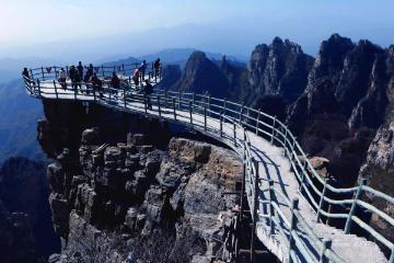 北京周边2日自驾游:赏观白石山-泡大午温泉2日河北自驾游