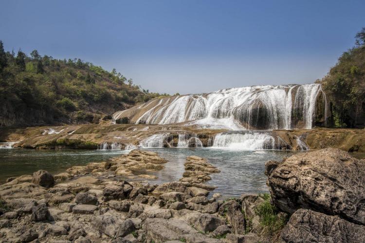 西安到黔西南7天自驾游,黄果树瀑布-万峰林-马岭河大峡谷