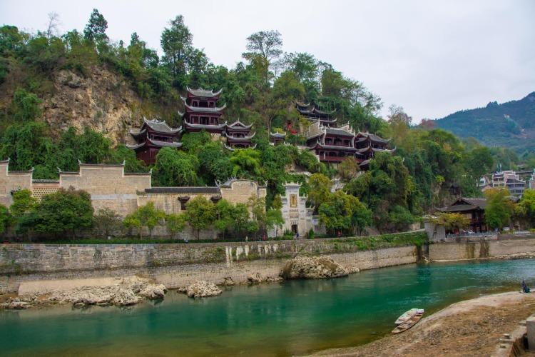 贵州镇远周边自驾游景点攻略,舞阳河,报京侗寨