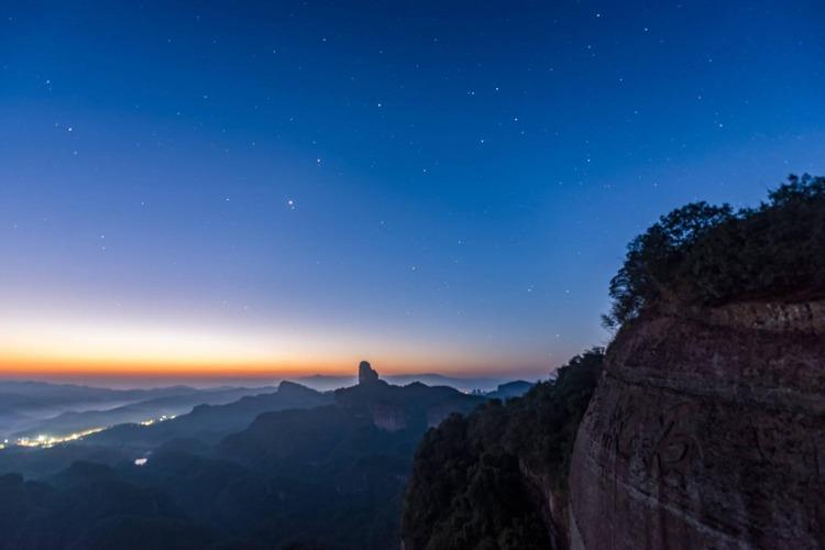 五一 自驾旅游景点推荐:广东丹霞山,乳源大峡谷
