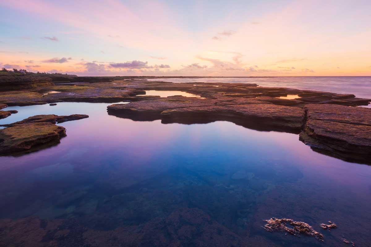 涠洲岛五彩滩