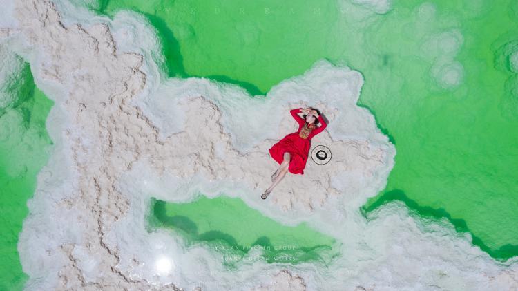 茫崖翡翠湖