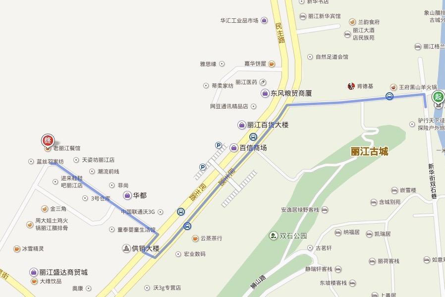 一份完整的丽江旅游攻略请查收(附丽江地图)