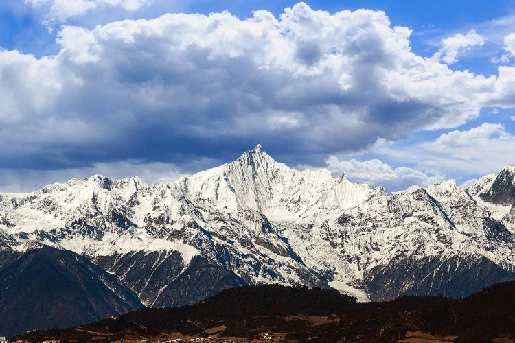 云南梅里雪山旅游攻略之明永冰川