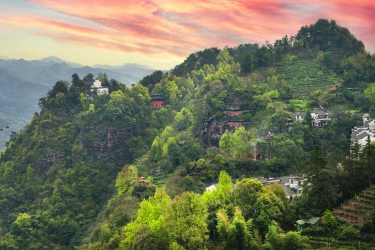 安徽的名山大川——齐云山旅游