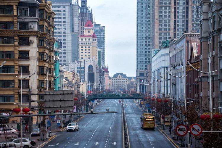 松花江上,哈尔滨中央大街攻略