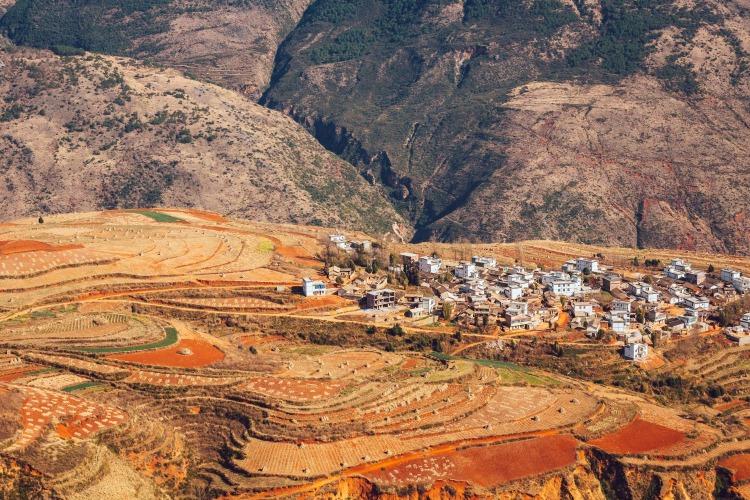 有谁国庆去过云南东川红土地,风景怎么样?