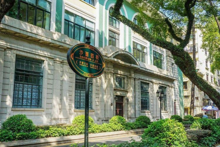 广州沙面岛,民国欧式建筑旅游地