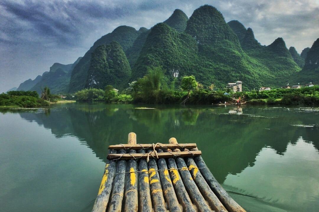 桂林旅游总结之遇龙河
