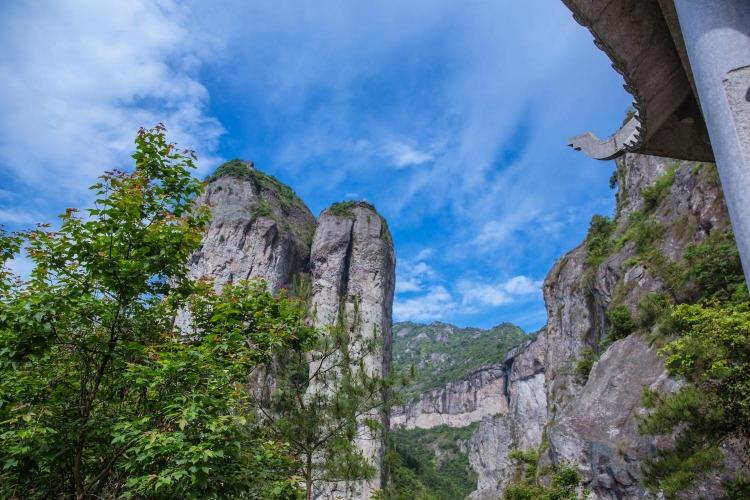 书本里的雁荡山,温州出发
