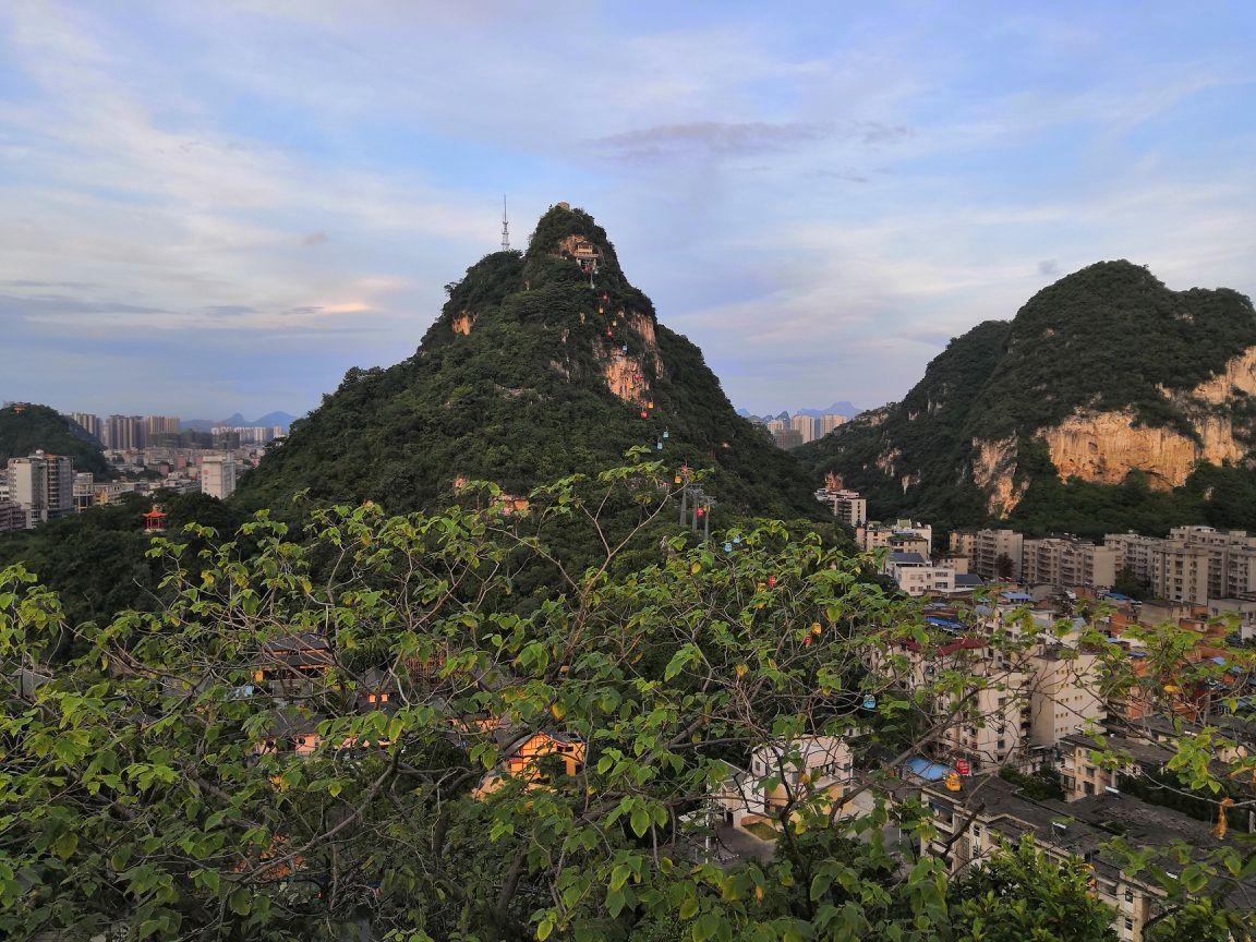立鱼峰风景