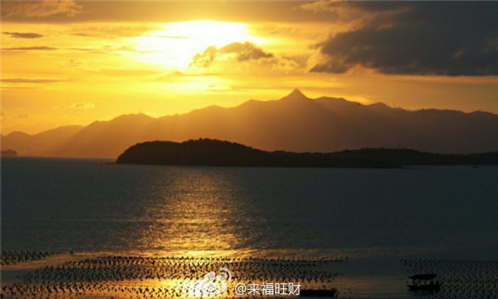 南澳岛,醉人的日落,在最美的海滩 做最浪漫的事