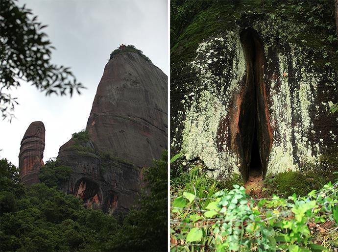 丹霞山,烟雨丹霞•丹霞地貌感受喜马拉雅造山运动后的风景