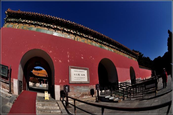 北京昌平十三陵风景区,重温中国古代史