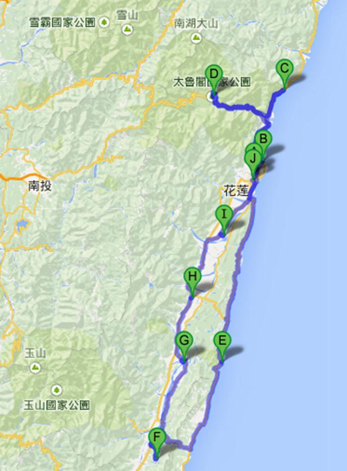 台湾花莲自驾两日游攻略大全:清境农场,六十石山,原野牧场,七星柴鱼博物馆,北回归线标志塔