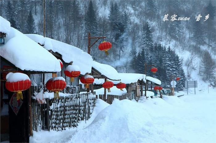 来自大东北吉林雪乡雾凇岛的以为冰姑娘