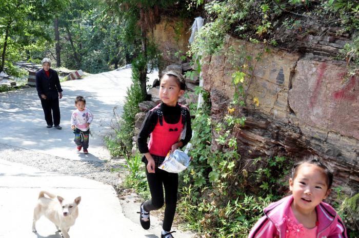 太行大峡谷风景区(2),天路,桃花谷景点游记
