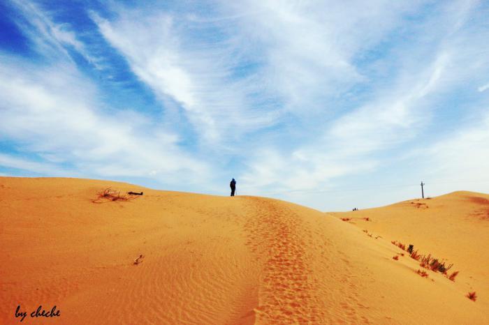 【自驾游攻略】库布齐沙漠最美沙漠,徒步穿越之旅